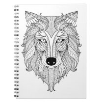 Color It! Majestic Wolf Notebook