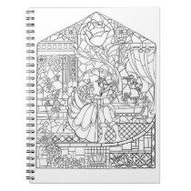 Color It! The Beauty And the Prince Notebook