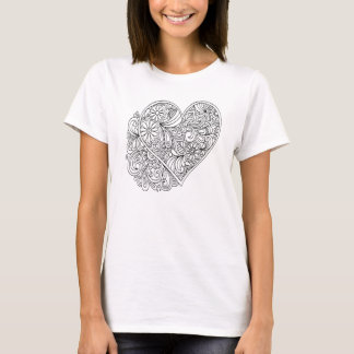 Color It Yourself with Fabric Markers Tee Shirt