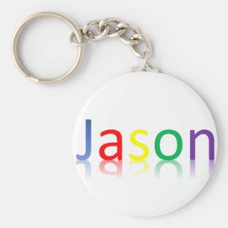 Color Jason Keychain
