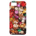 Color Jeweled de las gemas de la chispa de las joy iPhone 5 Case-Mate Cobertura