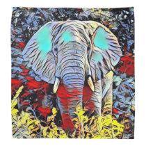 Color Kick - Elephant Bandana