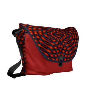 Color Knots Courier Bag
