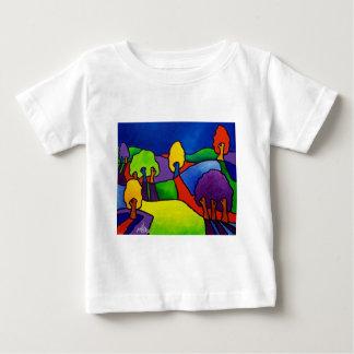 Color Landscape by Piliero Baby T-Shirt