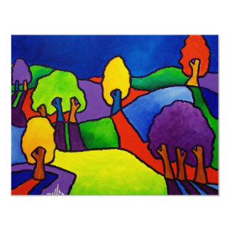 Color Landscape by Piliero Card