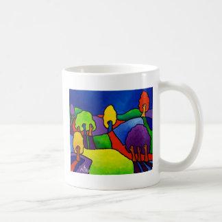 Color Landscape by Piliero Coffee Mug