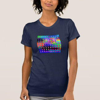 Color Lattice abstract T-Shirt