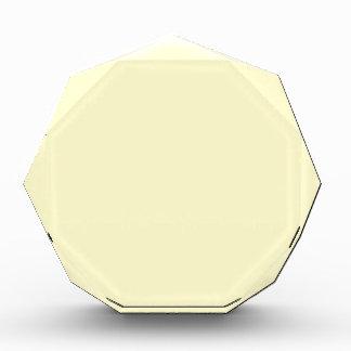 color lemon chiffon acrylic award