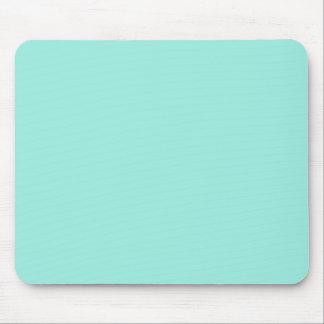 Color ligero de la moda del verde azul de la aguam tapetes de ratones