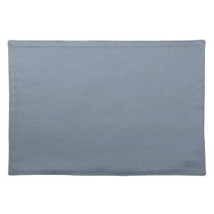 Color Light Slate Grey Cloth Placemat