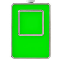 color lime christmas ornament