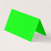 color lime place card
