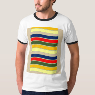 Color Lines Style T Shirts