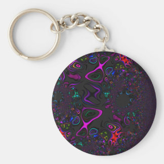Color Loops Keychain