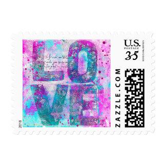 Color Love Postage