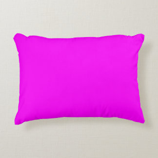 color magenta accent pillow