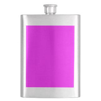 color magenta flask