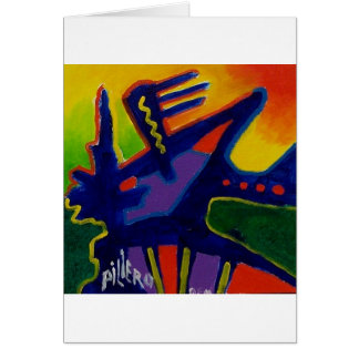 Color Magic  n by Piliero Greeting Card