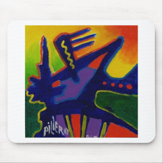 Color Magic  n by Piliero Mouse Pad