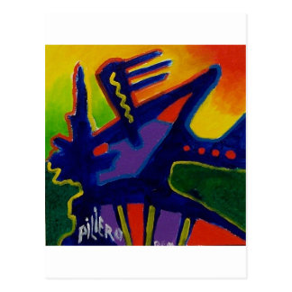 Color Magic  n by Piliero Postcard