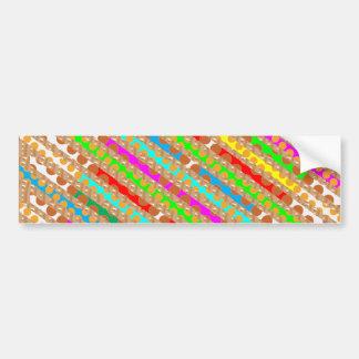 Color MAGIC Vibrant ColorMANIA Festival GIFTS Card Car Bumper Sticker