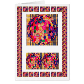 Color Mania - Sports Lovers Balls Greeting Card