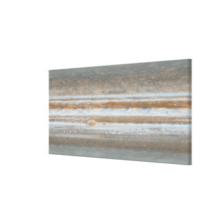 Color map of Jupiter 2 Gallery Wrap Canvas