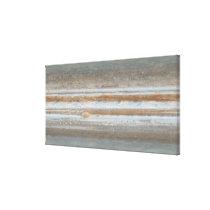 Color map of Jupiter Canvas Print