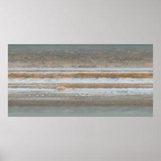 Color map of Jupiter Posters