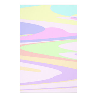 Color Marble Stationery