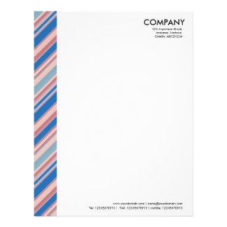 Color Margin - Stripes 310515 (011) Letterhead