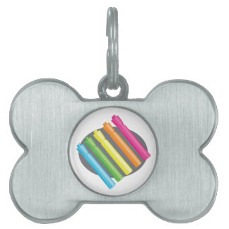 Color Markers Pet ID Tag