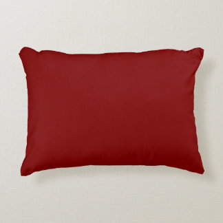 color maroon accent pillow