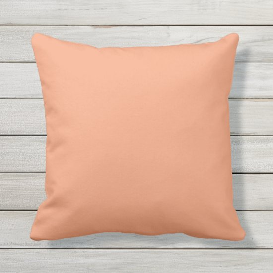 COLOR MATCH: WRP3d - Copper Orange Boho Diamonds Outdoor Pillow