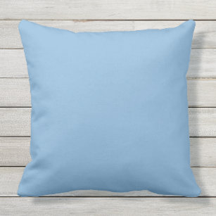Pastel Blue Outdoor Pillows Cushions