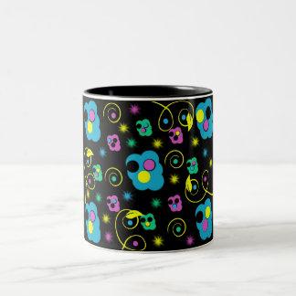 color maze Two-Tone coffee mug