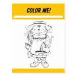 Color Me Activity Card