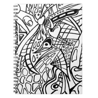Color Me Black and White Two Notebook