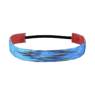 COLOR ME BLUE (an abstract art design) ~ Athletic Headband