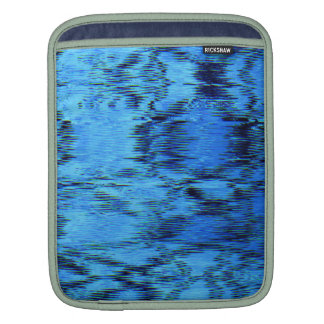 COLOR ME BLUE (an abstract art design) ~ Sleeve For iPads