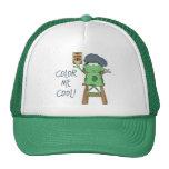 Color Me Cool Kids Art Gift Trucker Hat