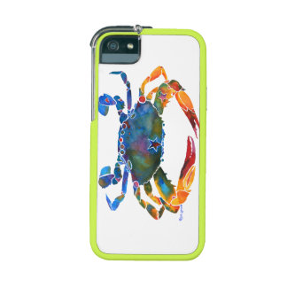 Color Me Crab E Cover For iPhone 5/5S