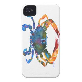 Color Me Crab E iPhone 4 Case-Mate Cases