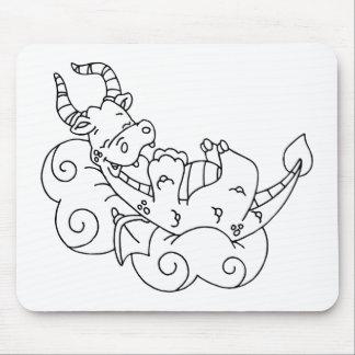 Color Me Dragon Nap Mousepads