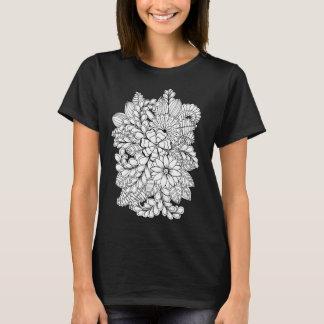 Color Me Floral Group DIY Doodle T-Shirt
