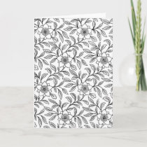 Color Me Greeting Card - Envelopes Included