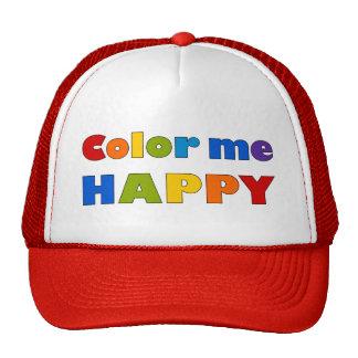 Color Me Happy Cap Trucker Hat