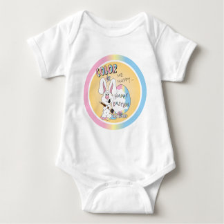 Color Me Happy Easter Bunny T-shirt