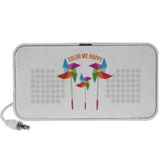 Color Me Happy iPod Speaker