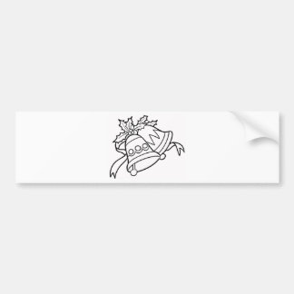 Color Me Jingle Bells Bumper Sticker